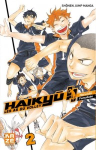 Haikyu !! Les As du Volley - Tome 02Kazé Manga
