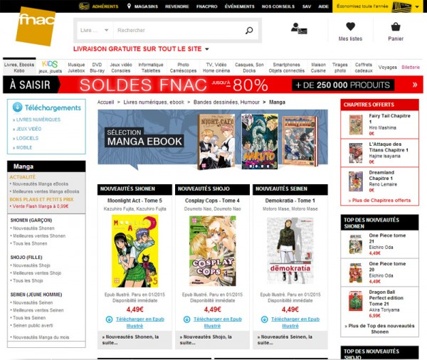 Fnac eBooks