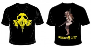 T-shirt Poison City