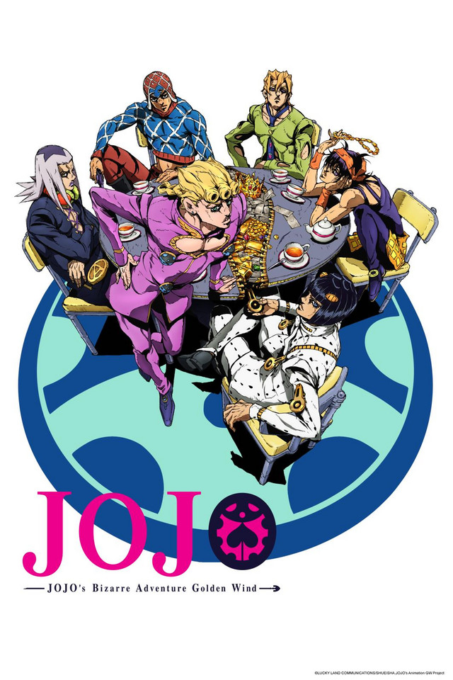 Jojo part.5 Golden Wind