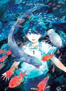 Couverture du tome 1 de Deep Sea Aquarium Magmell