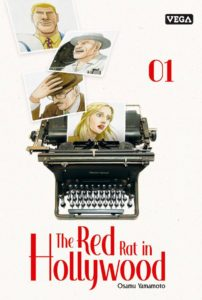Couverture du tome 1 de The Red Hat in Hollywood