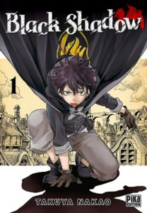Couverture du tome 1 de Black Shadow chez Pika