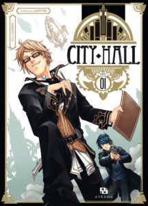 Couverture du tome 1 de City Hall chez Ankama Editions