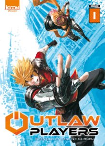 Couverture du tome 1 de Outlaw Players chez Ki-oon
