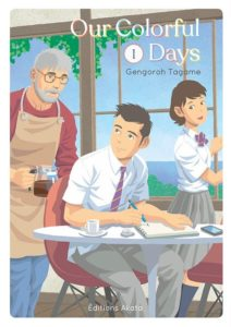 Couverture du tome 1 de Our colorfoul Days chez Akata