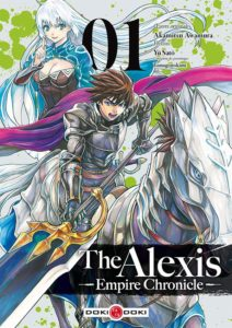 Couverture du tome 1 de Alexis Empire Chronicle chez Doki-Doki