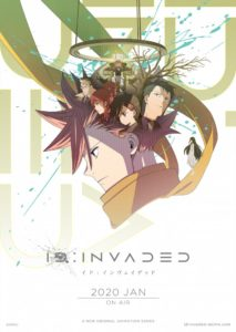Affiche de l'anime de ID:INVADED sur Wakanim