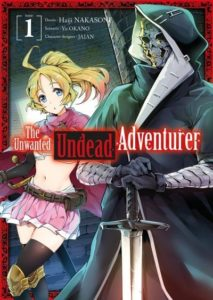 Couverture du tome 1 de The unwanted undead adventurer chez Meian