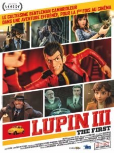Affiche du film Lupin III the first par Eurozoom