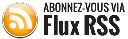 S'abonner via le Flux RSS