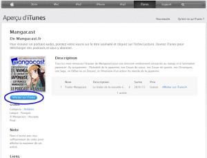 Cliquez sur le bouton Afficher sur iTunes.