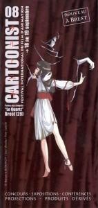 Flyer du Cartoonist 08