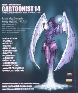 Affiche Cartoonist 14 - Paris