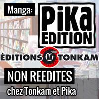 Titres non réédités chez Pika et Tonkam