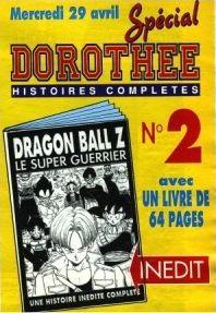 Livret manga Dragon Ball dans le Dorothée Magazine