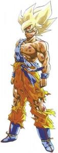 Goku Super Saiyan sur Namek