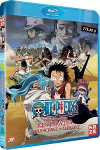 One Piece Film 8 : Les Pirates et la Princesse du Désert