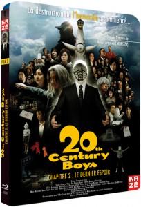 Blu-ray de 20th Century Boys partie 2 chez Kazé