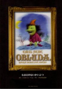 Obluda par Emil Sebe (édition japonaise)
