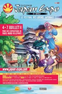 Affiche Japan Expo 14e Impact (2013)