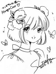 Dédicace de Shiitake pour Mangacast
