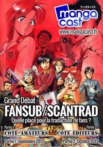 Mangacast 08 : affiche