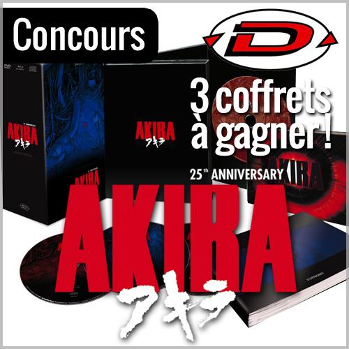 Concours : 3 coffrets collector Akira à gagner avec Dybex !