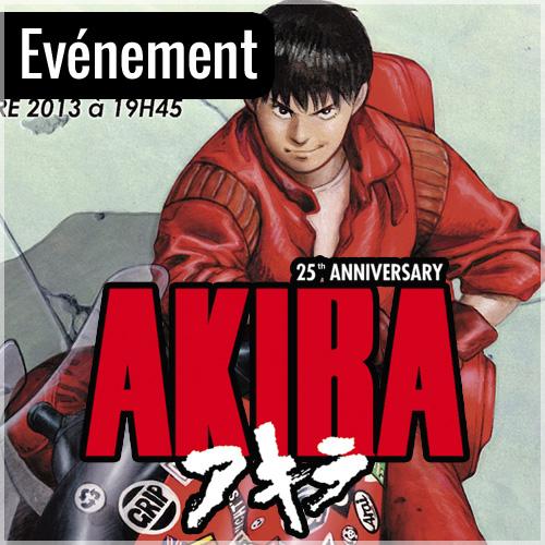 Akira revient au cinéma, pour les 25 ans du film !