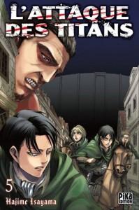 L'Attaque des Titans - Tome 05