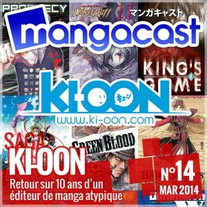 Mangacast N°14 - Saga : Ki-oon, retour sur 10 ans d'un éditeur de manga atypique