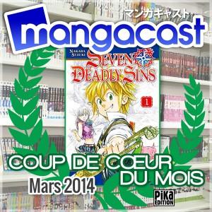 Coup de Cœur du Mois de Mars 2014 : Seven Deadly Sins - Tome 01