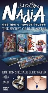 """Nadia des Mers Mystérieuses - Intégrale Édition Spéciale """"Blue Water"""""""