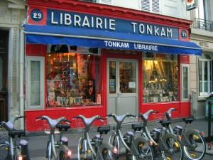Feu la librairie Tonkam, rue Keller à Paris