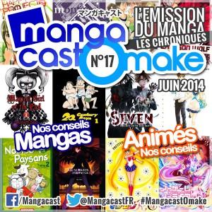 Mangacast Omake N°17 - Juin 2014
