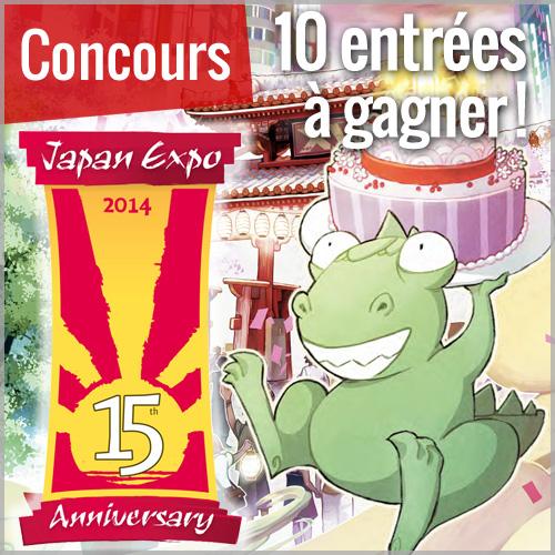 Concours : Gagnez votre entrée pour Japan Expo 2014 !