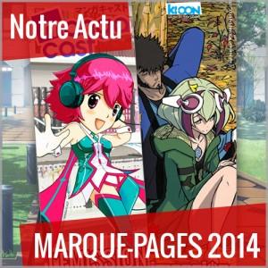 Découvrez le marque-page Mangacast/Ki-oon disponible à Japan Expo 2014 !
