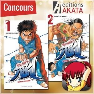 [Concours] Gagnez les tome 1 et 2 de Prisonnier Riku avec Akata !