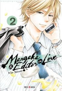 Mangaka & Editor in Love - Tome 02