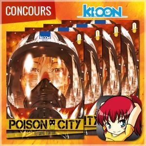 [Concours] Gagnez le premier tome de POISON CITY avec Ki-oon !