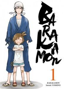 Couverture du tome 1 de Barakamon chez Ki-oon