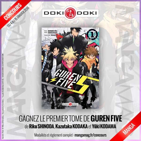 [Concours] Gagnez le manga Guren Five avec Doki-Doki