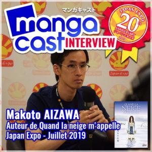 Interview de Makoto AIZAWA