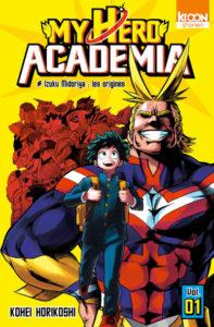 Tome 1 de My Hero Academia chez Ki-oon