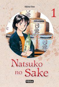 Couverture du tome 1 de Natsuko no Sake