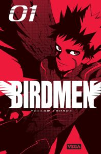 Couverture du tome 1 de Birdmen chez Véga Editions