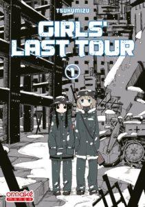 Couverture du tome 1 de Girls' Last Tour chez Omaké Books