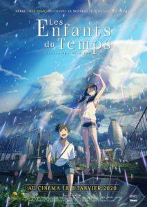Affiche du film de Makoto Shinkai Les enfants du temps