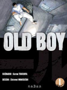 Couverture du tome 1 de Old Boy chez Naban éditions