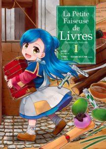Couverture du tome 1 de La petite faiseuse de livres chez Ototo